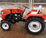 Отзыв владельца о мини тракторе  Уралец-220  1 часть