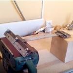Заточка ножей для электрорубанка и фуганка