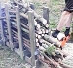 Стойка для распилки дров