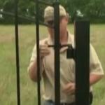 Монтаж ворот с регулируемыми завесами