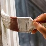 Красим масляной  краской по водоэмульсионной