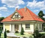 Вальмовая четырёх скатка или крыша без фронтона