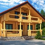 Из какого материала построить  деревянный дом?