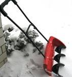 Лопата со шнеком  для чистки снега