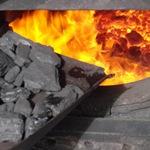 Отопление углём и как топить угольной пылью