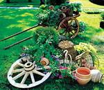 Садовая скульптура в Этно стиле