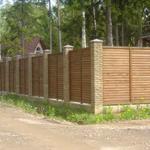 Окраска оград