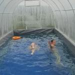 Простейший крытый бассейн