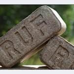 Топка бани брикетами RUF, Nestro и PINI&KAY