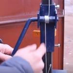 Подъёмный механизм  стойки для дрели