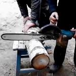 Самодельная электропила из болгарки