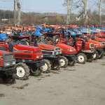 Доставка тракторов б/у из Японии
