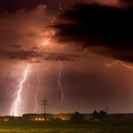 Защита дома от молнии