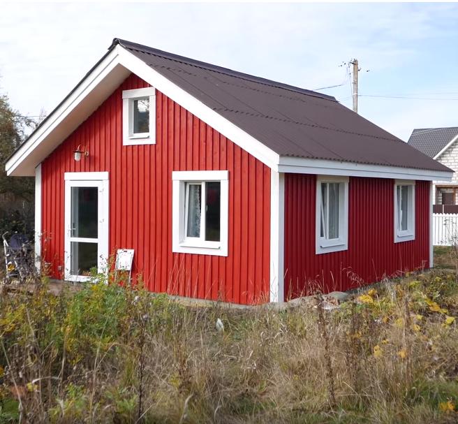 Компактный дом в шведском стиле