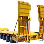 Низкорамные тралы для транспортировки негабаритных грузов