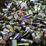 Утилизация электрических батареек