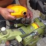 Какое масло нужно для дизельных мини тракторов?