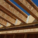 Деревянный двутавр  в строительстве
