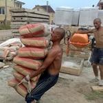 Чтобы не воровали цемент и материалы рабочие