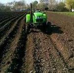 Технология посадки картофеля мини трактором без картофелесажалки