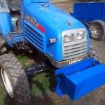 Дополнительный груз на мини тракторе - повышает тяговое усилие