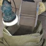 Очистка фильтра шлиф машинкой