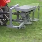 Роторная косилка для мини трактора  Уралец