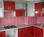 Кухонные фасады из пластика