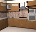 Кухонные фасады  из МДФ покрытые плёнкой
