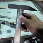Молоток с окованной ручкой и его изготовление