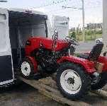Отзыв владельца о мини тракторе  Уралец-220  часть 2