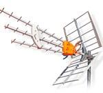 Установка телевизионной антенны и отзывы о приёме цифрового телевидения