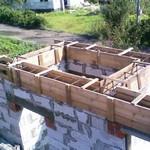 Армопояс повышает надёжность  домов из газобетона