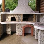 Садовые очаги, кострища, камины, барбекю