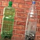 Пластиковые бутылки для гвоздей и шурупов