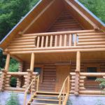 Балкон из древесины