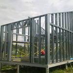 Строительство дома из металлопрфиля