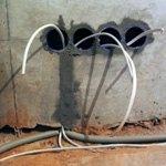 Типы проводов и соединений