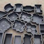 Очистка форм при изготовлении тротуарной плитки