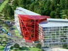 Здание-«кристалл» начали строить на Свислочи