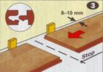 Как  производится укладка ламината