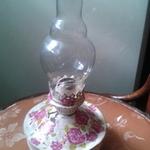 Из старой керосинной лампы – произведение для украшения