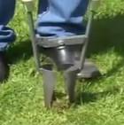 Лопата для посадки луковиц, клубней и рассады цветов