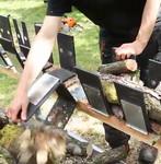 Опрокидывающаяся  подставка Truncator, для пиления дров