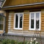 Переделка старого деревенского дома 5 часть