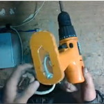 Переделываем аккумуляторный шуруповёрт на сетевой
