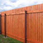 Деревянные ограды