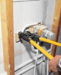 Монтаж металлопластиковых труб  с применением пресс-фитингов