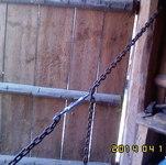 Как выровнять проём ворот  деревянного гаража?