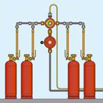 Монтаж газобаллонной установки